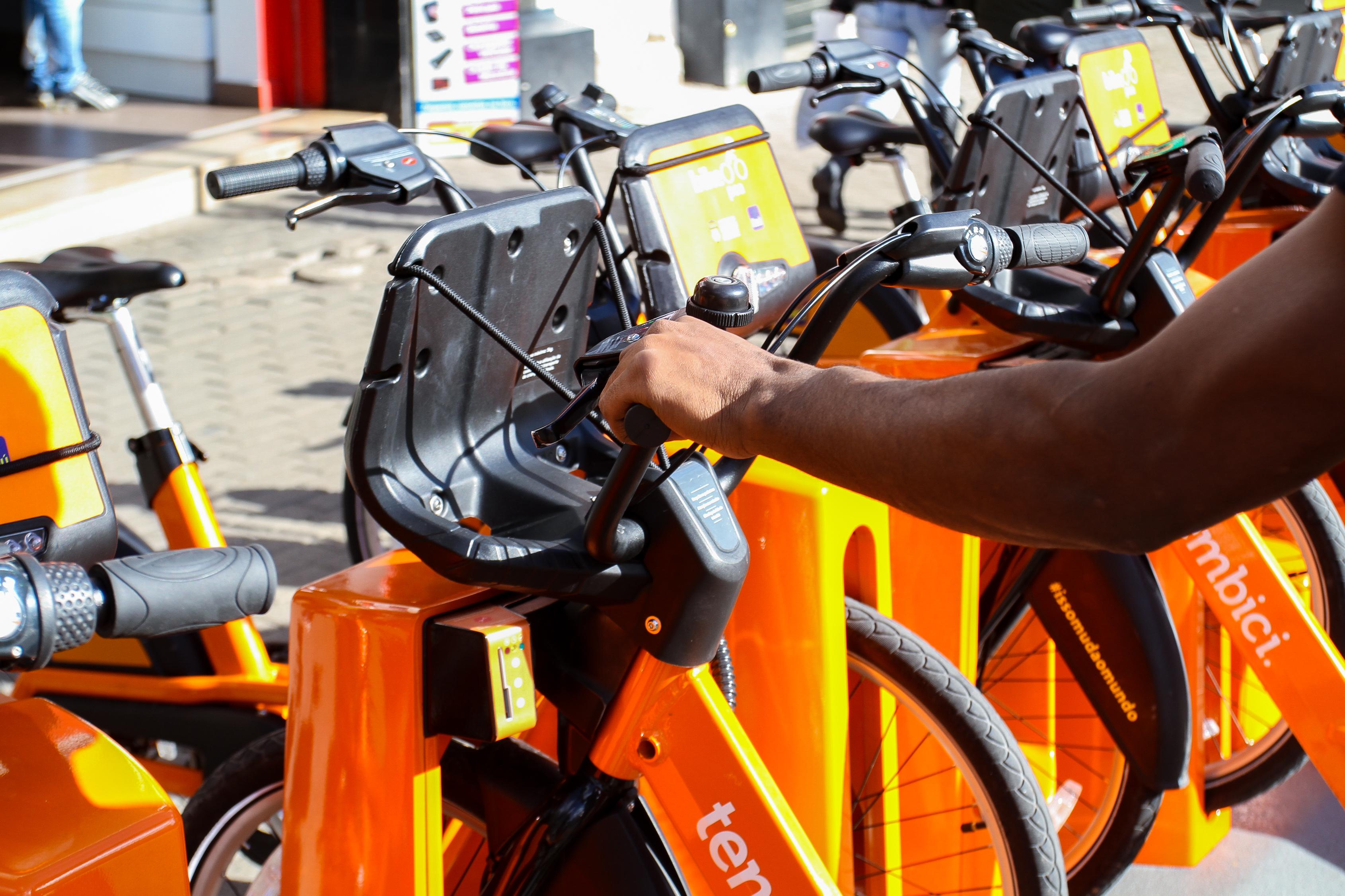 Estação de bicicletas Bike POA